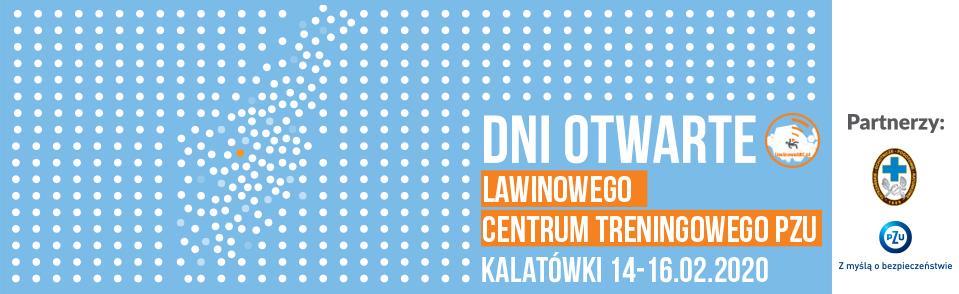 Dni Otwarte Treningowego Centrum Lawinowego PZU na Kalatówkach 14-16.02.2020
